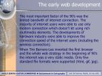 the early web development