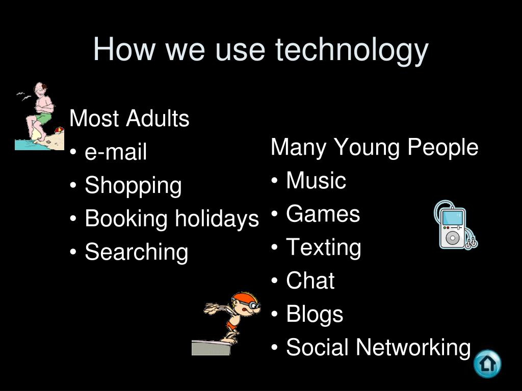 How we use technology