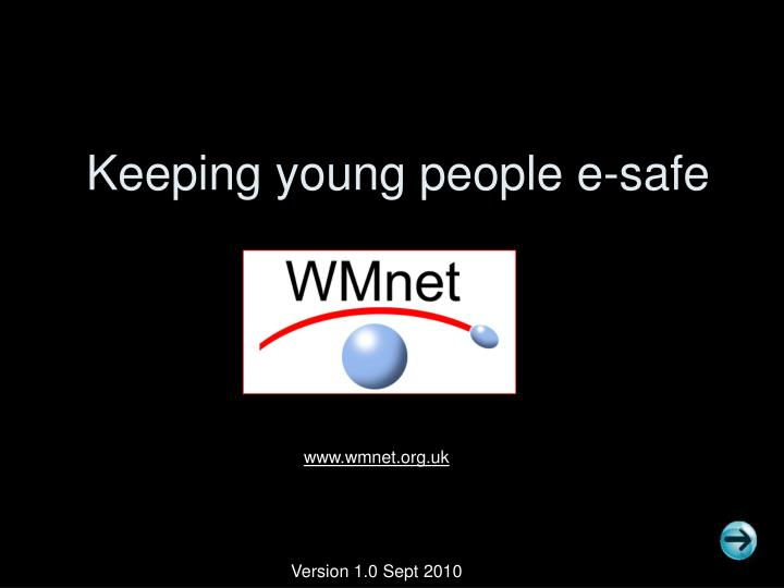 Keeping young people e safe