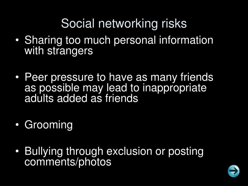 Social networking risks