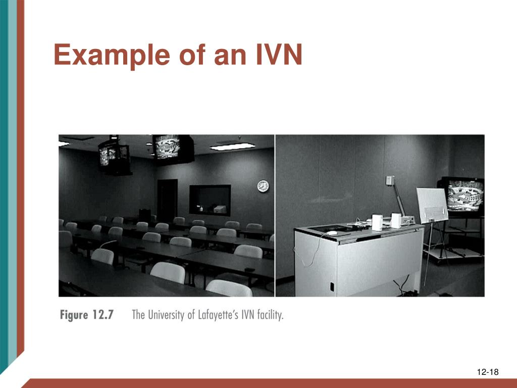 Example of an IVN