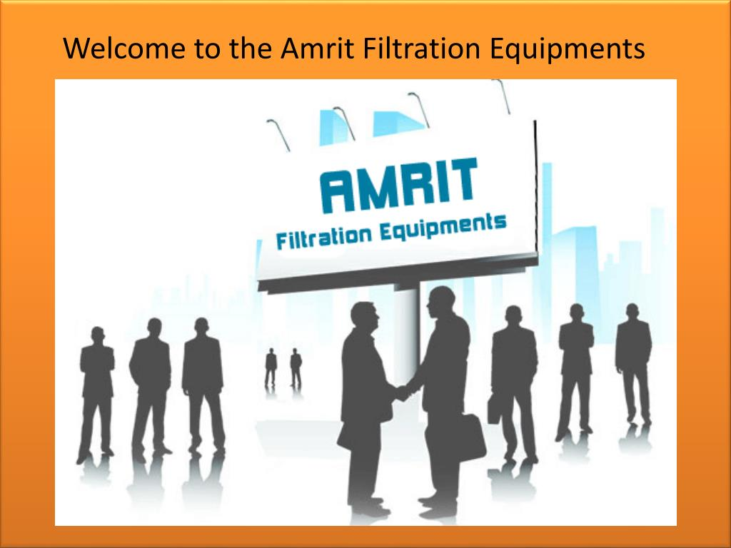 Welcome to the Amrit Filtration Equipments