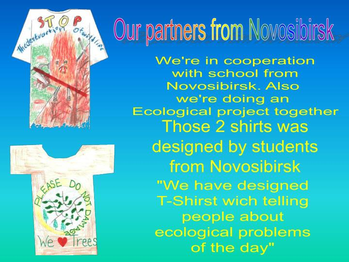 Our partners from Novosibirsk