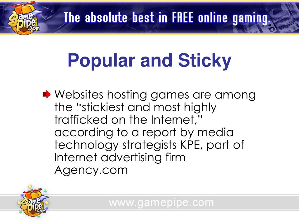 Popular and Sticky