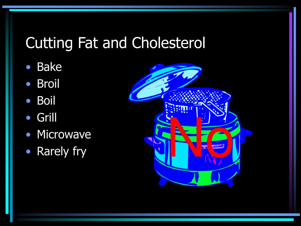 Cutting Fat and Cholesterol
