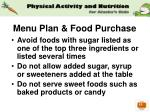 menu plan food purchase35