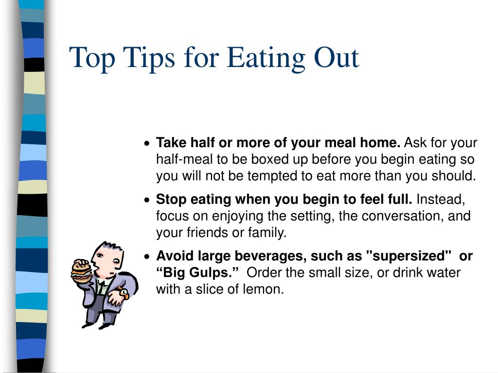 Top Tips for Eating Out