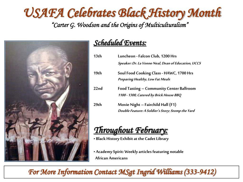USAFA Celebrates Black History Month