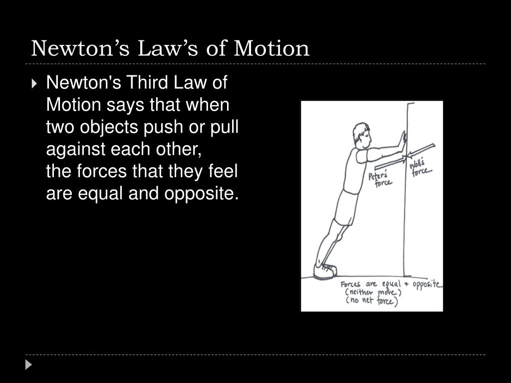 Newton's Law's of Motion