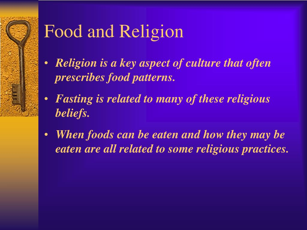 Food and Religion
