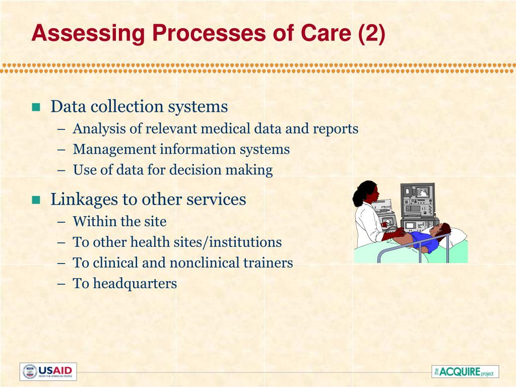 Assessing Processes of Care (2)