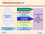 planning for action 1