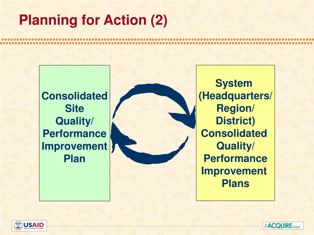 Planning for Action (2)