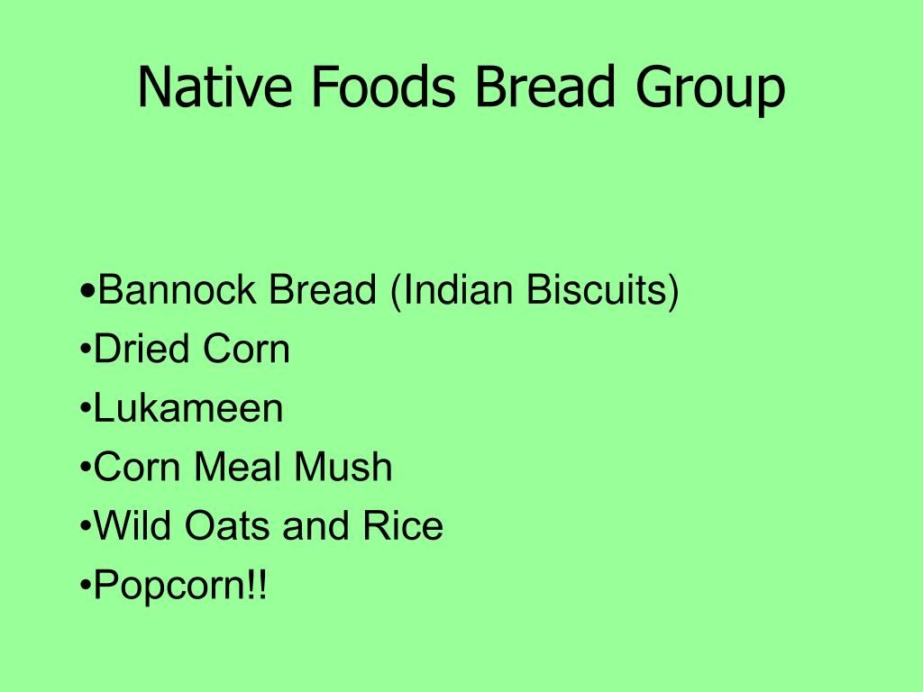Native Foods Bread Group