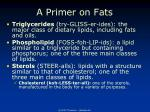 a primer on fats7