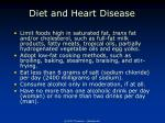diet and heart disease71