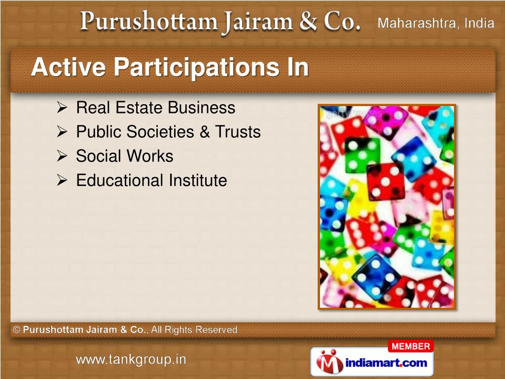 Active Participations In