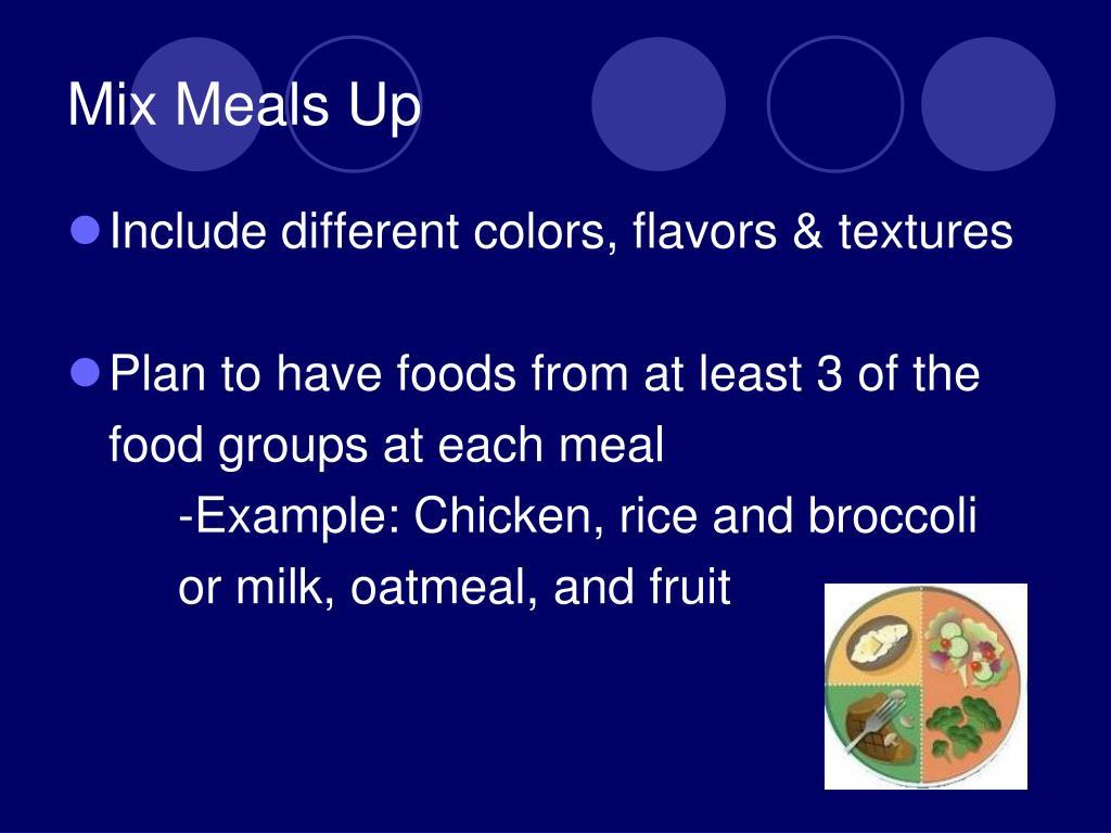 Mix Meals Up