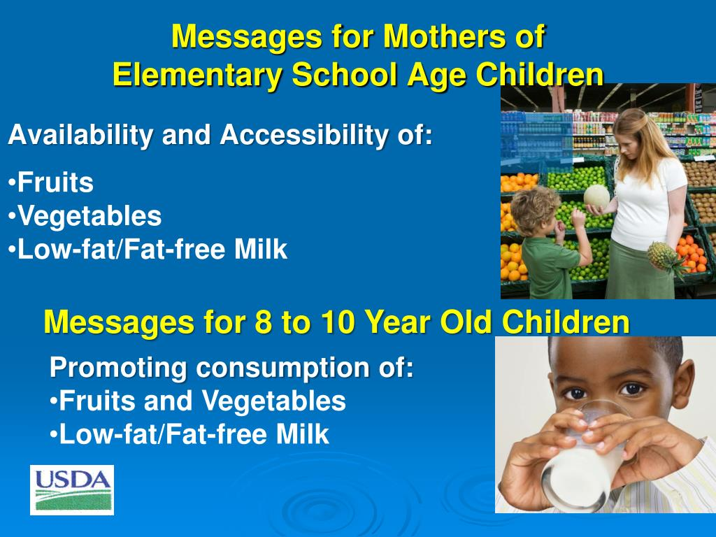 Messages for Mothers of