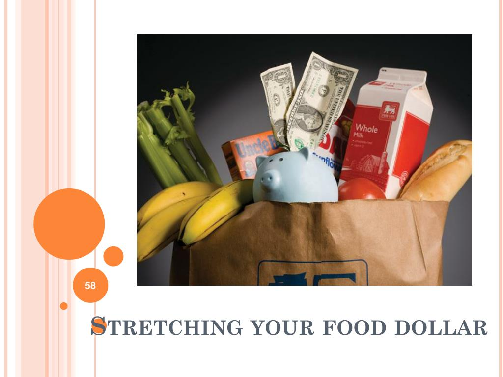 Stretching your food dollar