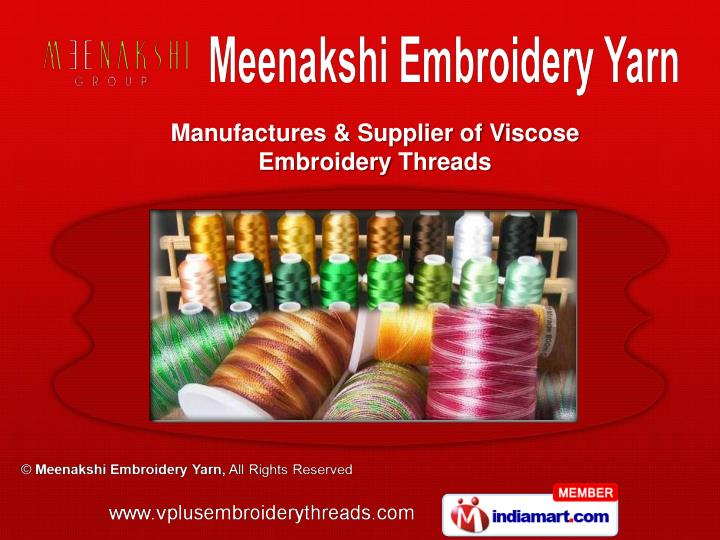 Manufactures & Supplier of Viscose