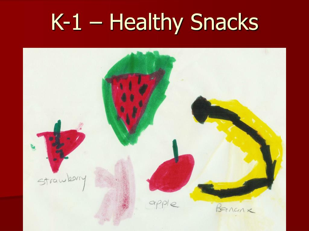 K-1 – Healthy Snacks