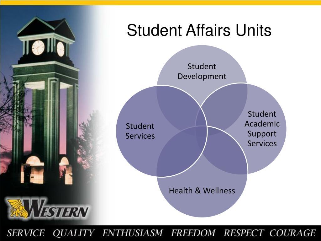 Student Affairs Units