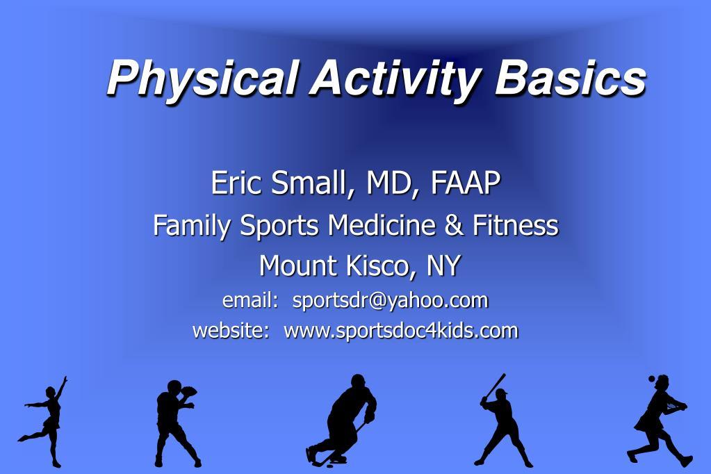 Physical Activity Basics