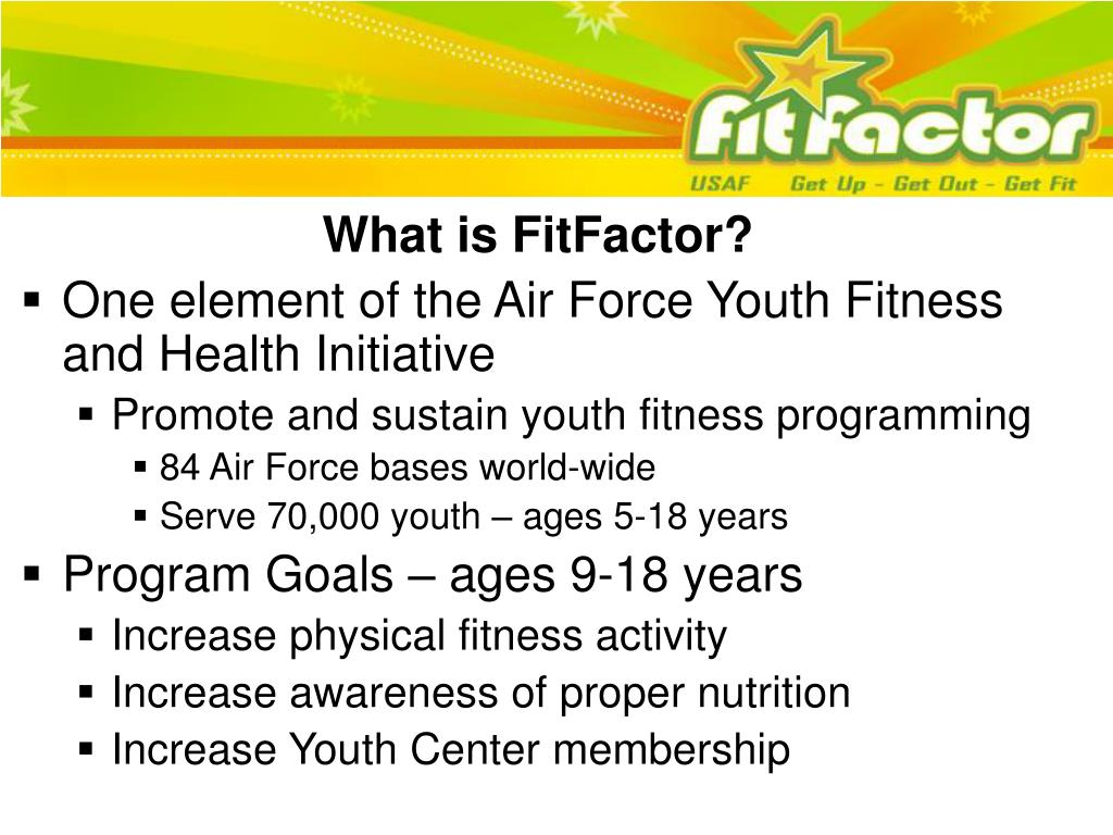 What is FitFactor?