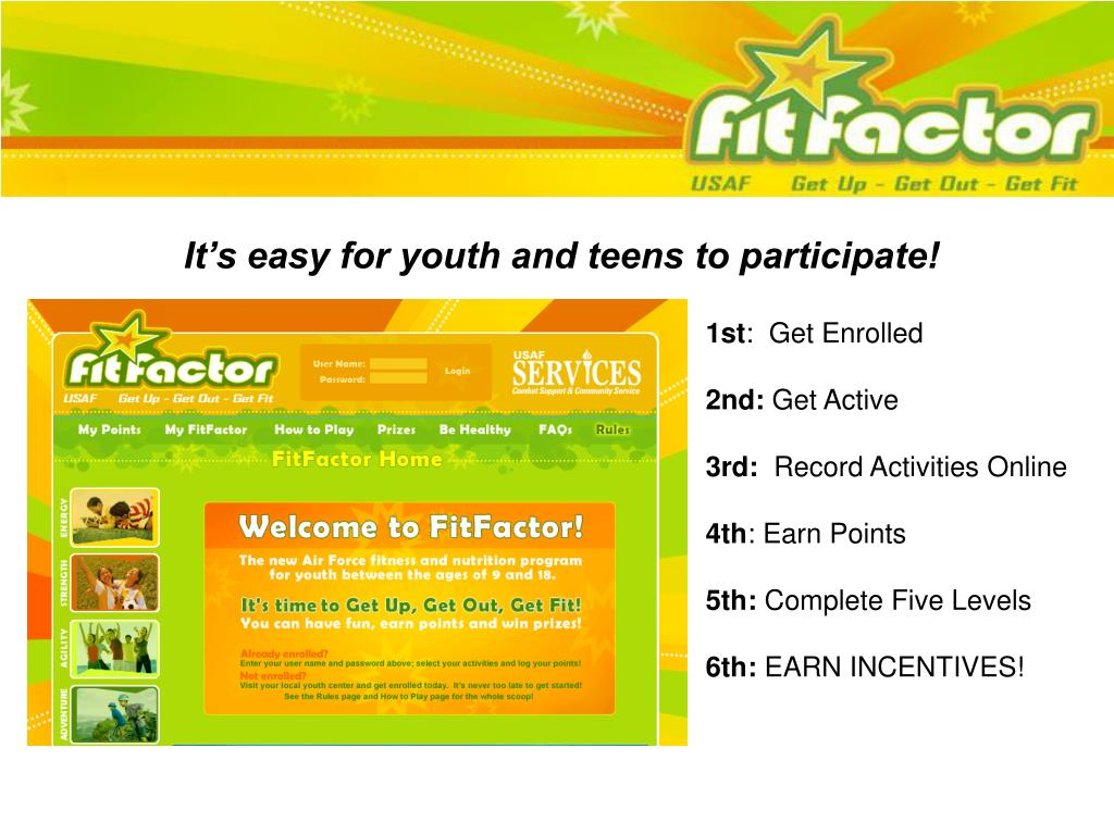 It's easy for youth and teens to participate!