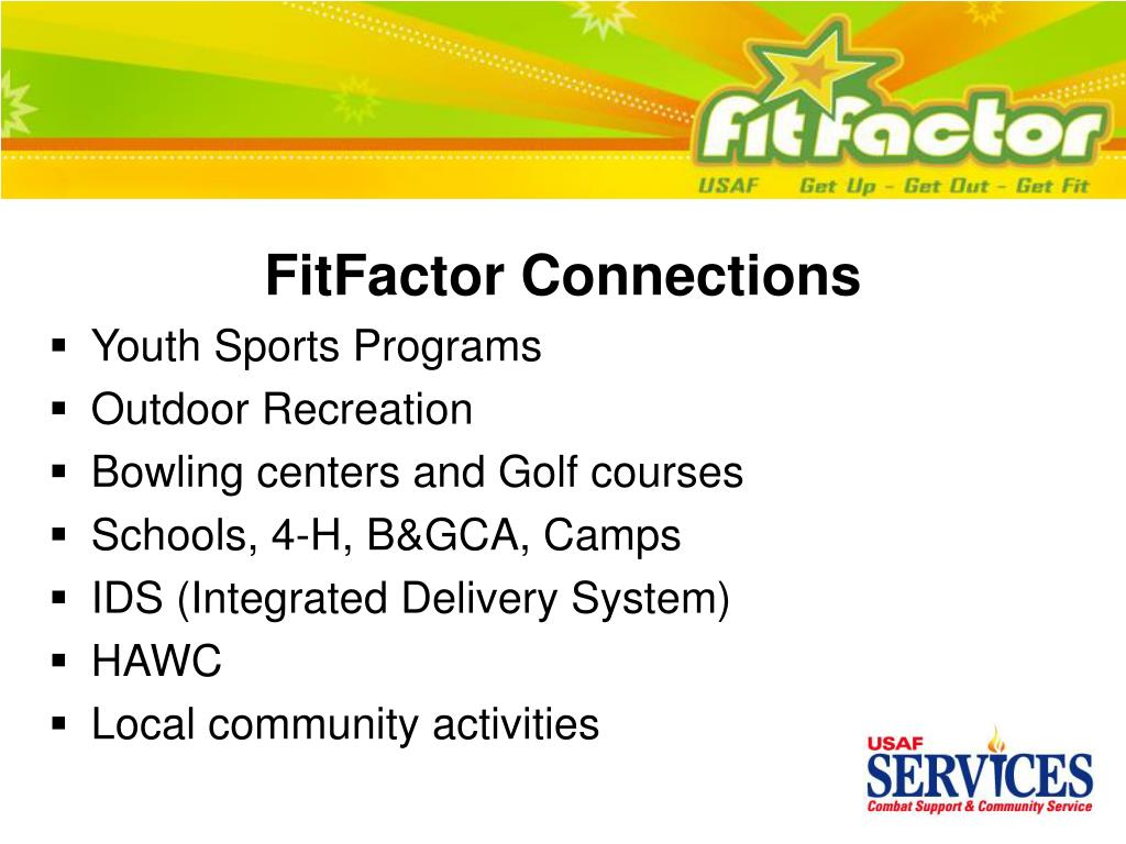 FitFactor Connections