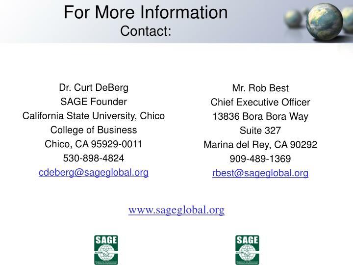 Dr. Curt DeBerg