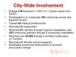 city wide involvement