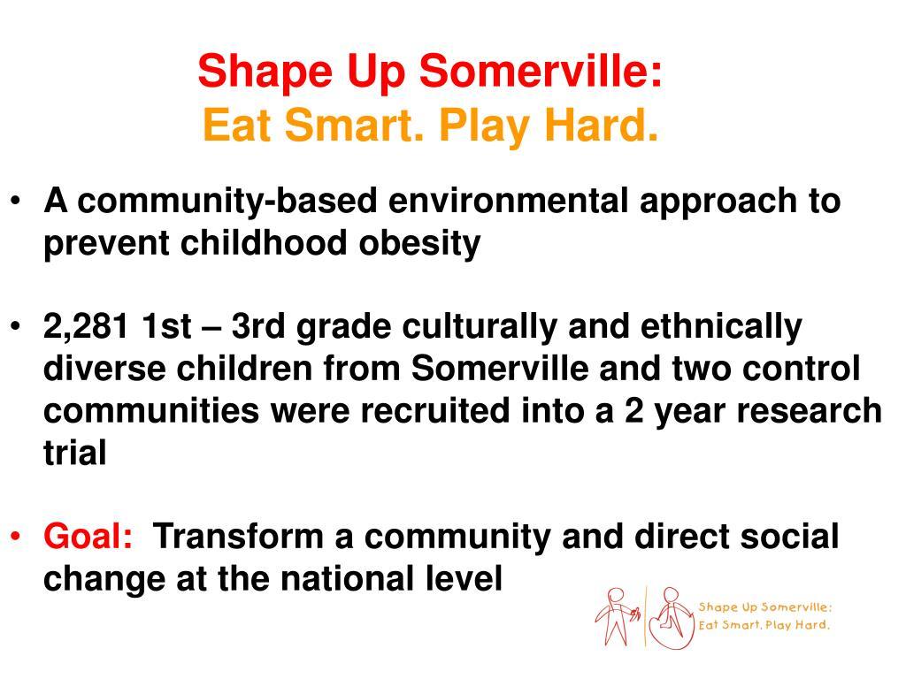 Shape Up Somerville: