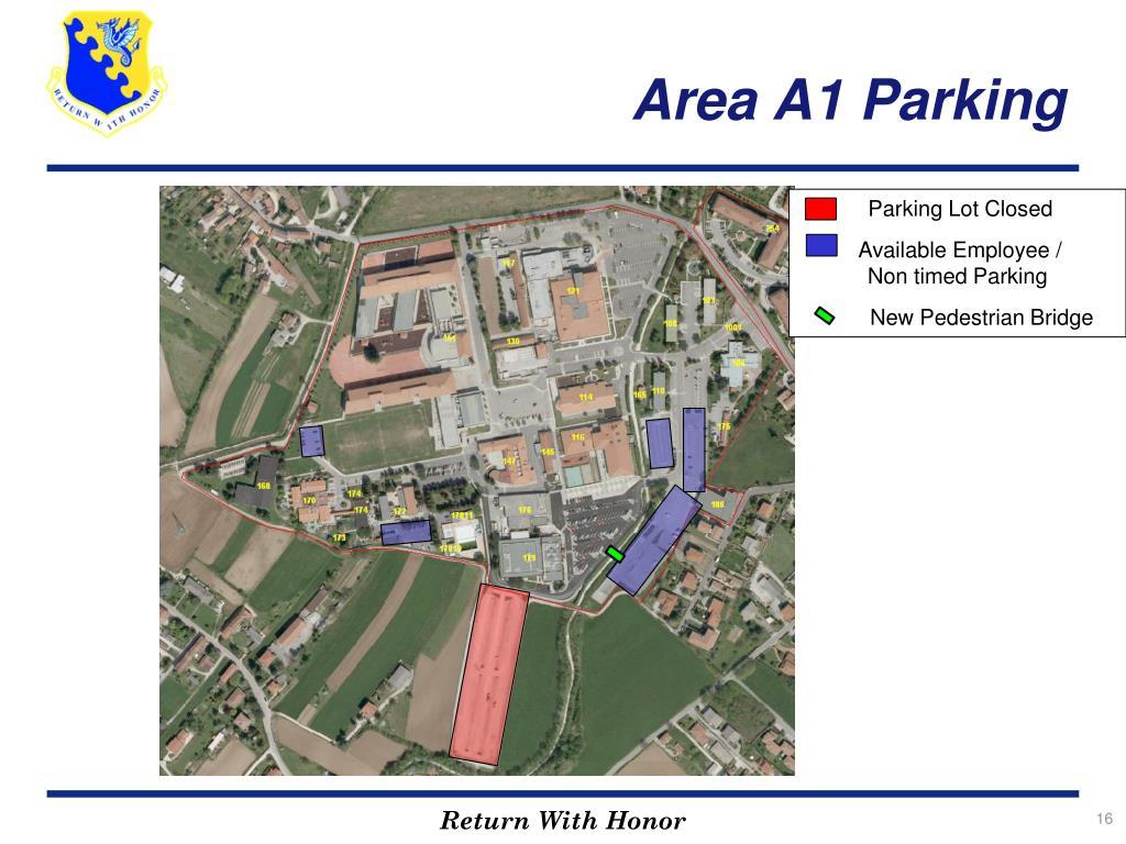 Area A1 Parking
