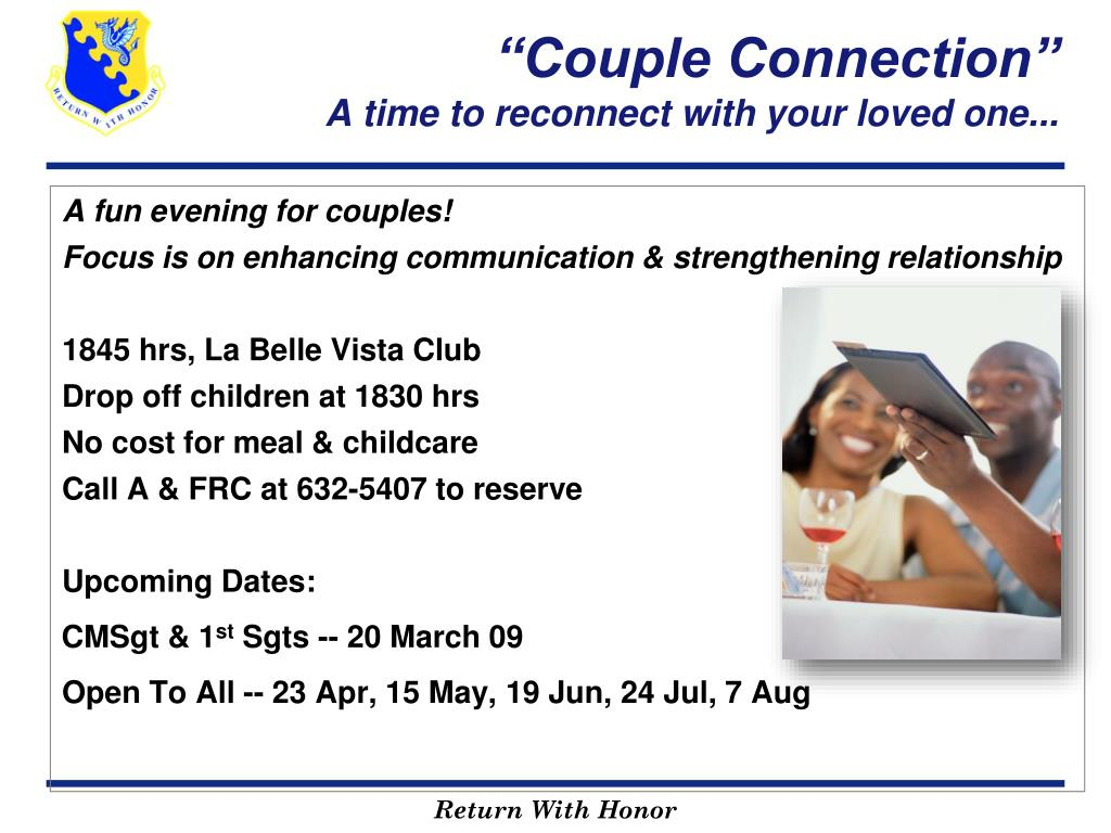 """Couple Connection"""