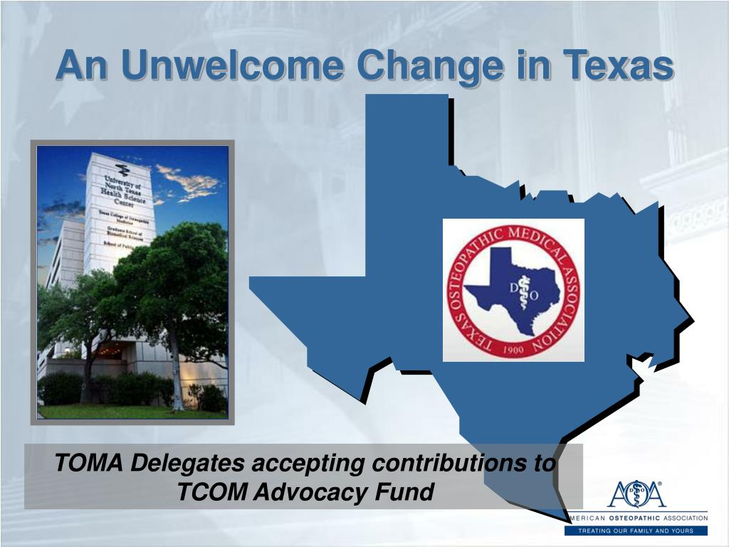 An Unwelcome Change in Texas