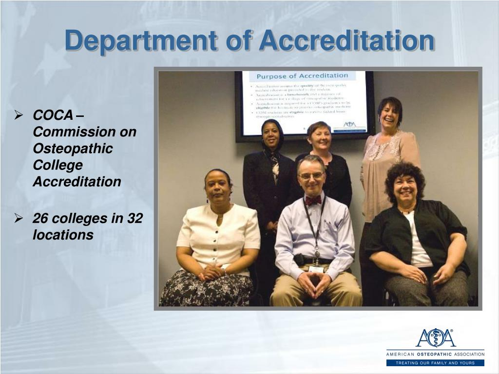 Department of Accreditation