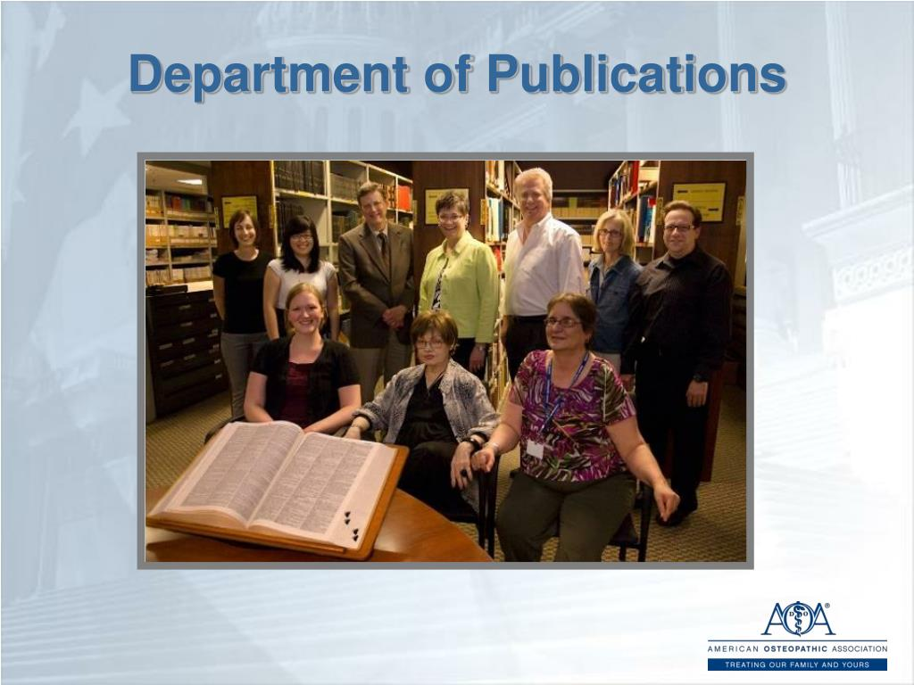 Department of Publications