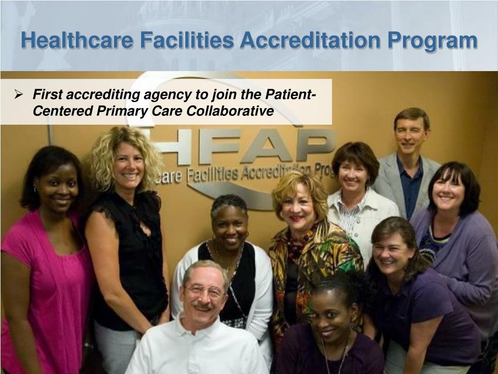 Healthcare Facilities Accreditation Program