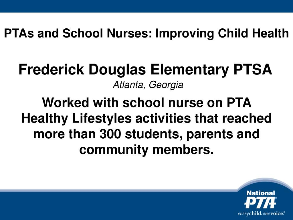 PTAs and School Nurses: Improving Child Health