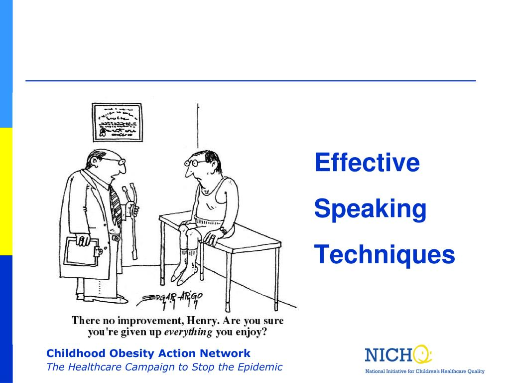 Effective Speaking Techniques