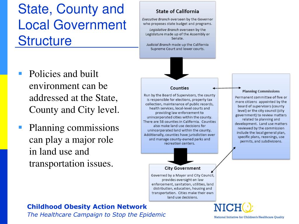 State, County and Local Government Structure