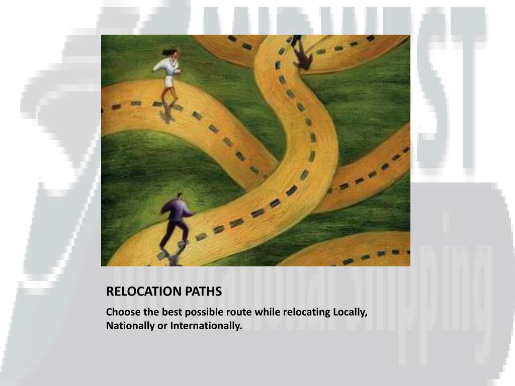 RELOCATION PATHS