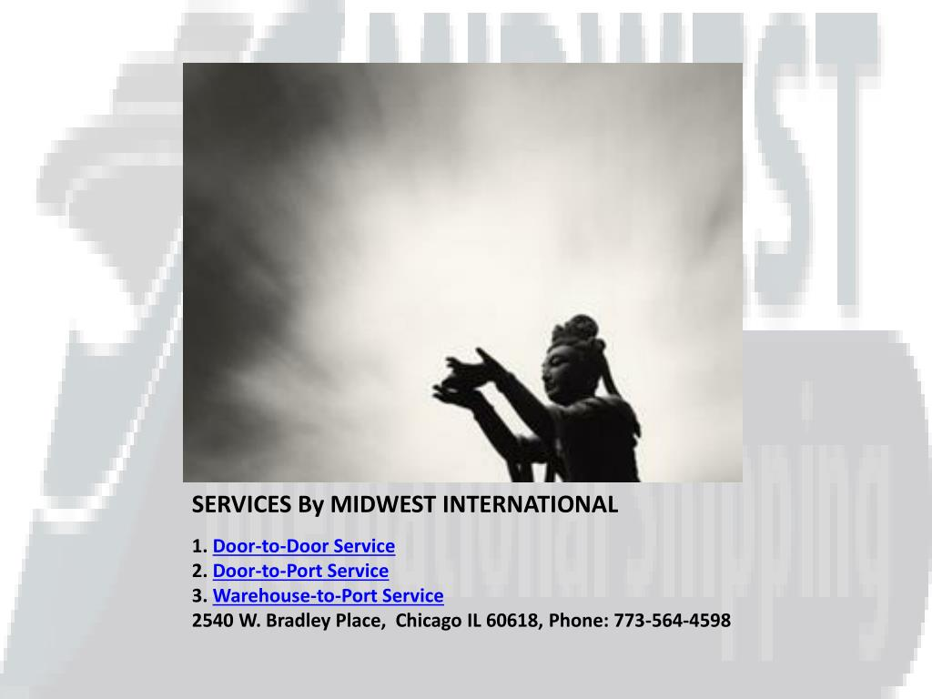 SERVICES By MIDWEST INTERNATIONAL