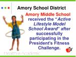 amory school district9