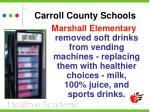 carroll county schools