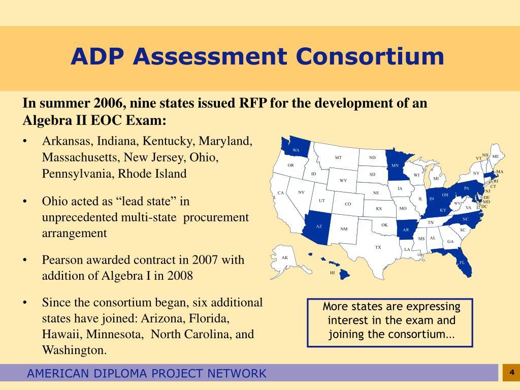 ADP Assessment Consortium