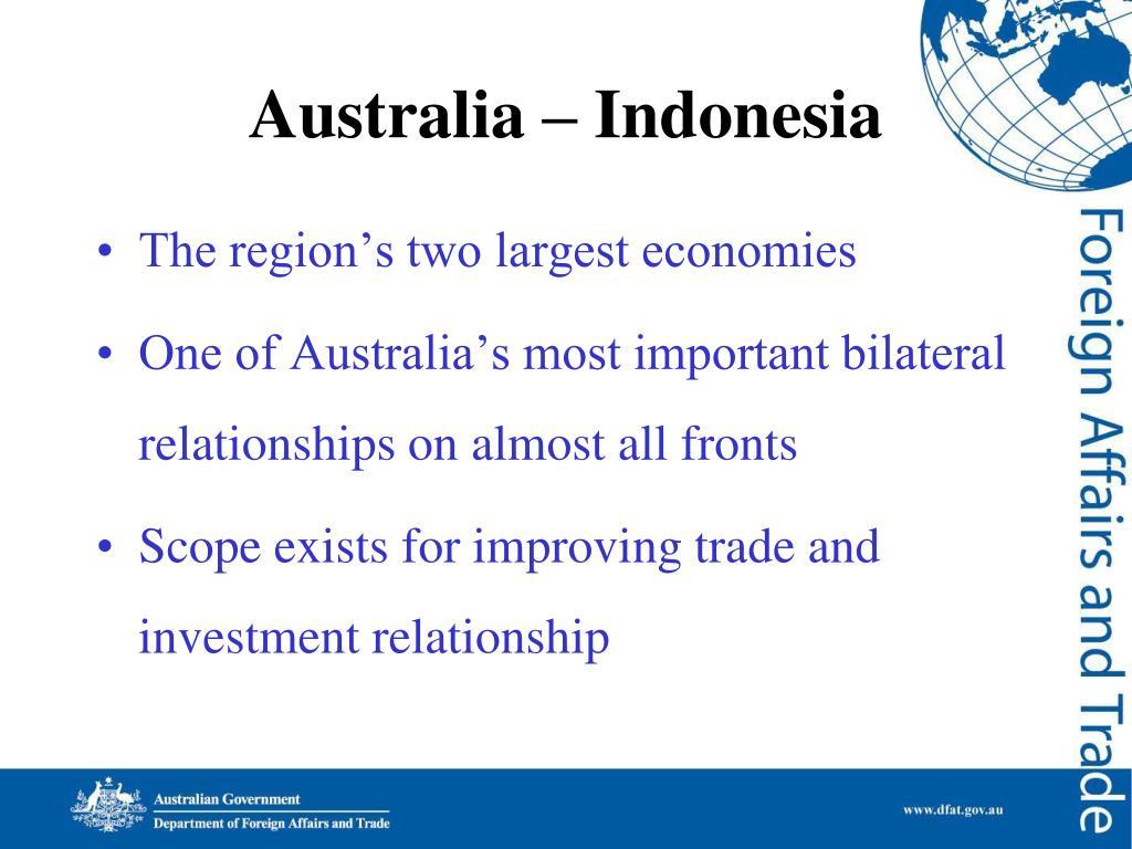Australia – Indonesia
