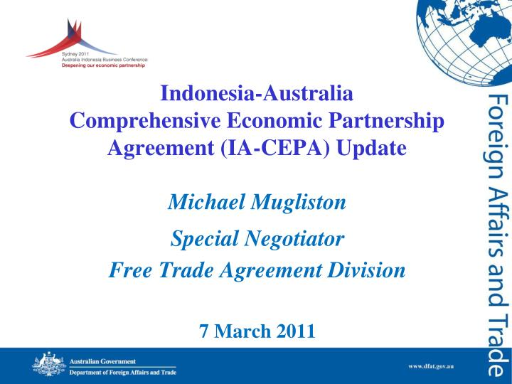 Indonesia australia comprehensive economic partnership agreement ia cepa update l.jpg